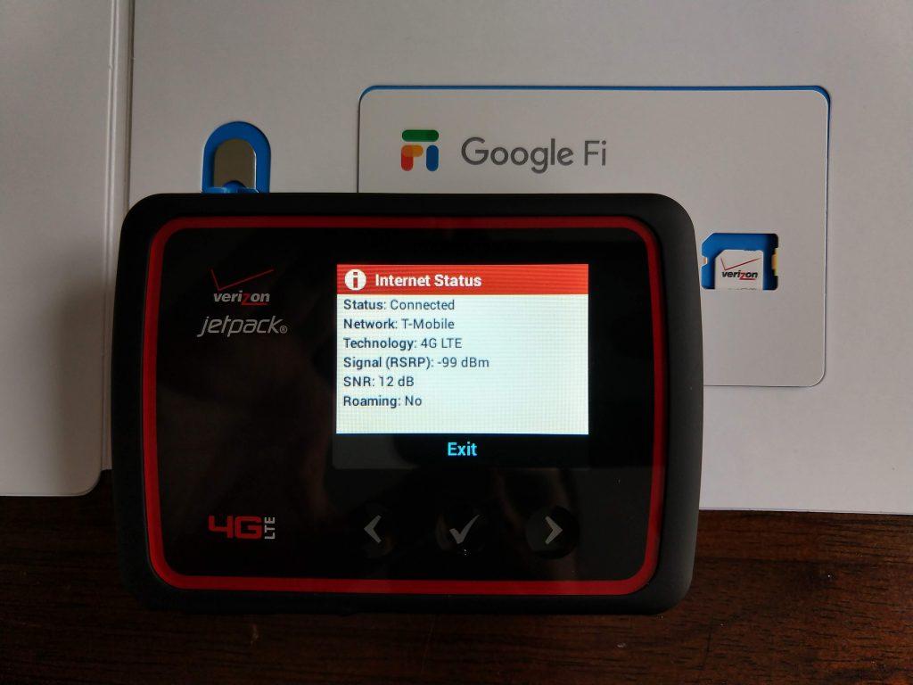 How to use Google Fi data SIM on a Verizon Jetpack MiFi – Jason Pearce